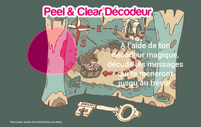 Peel & Clear® Decoder