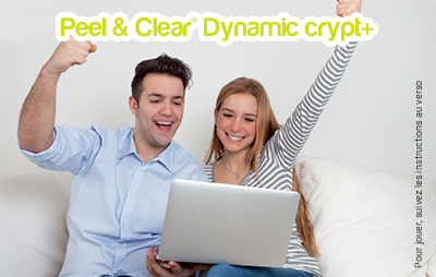 Peel & Clear® Dynamic Encrypt+
