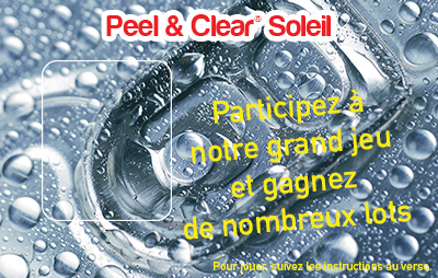 Peel & Clear® Sun