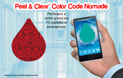 Peel & Clear® Nomade