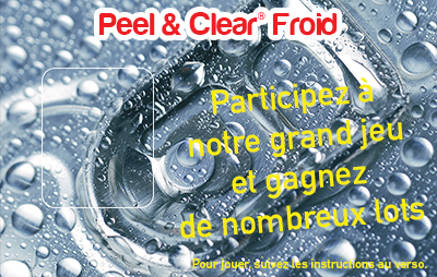 Peel & Clear® Froid